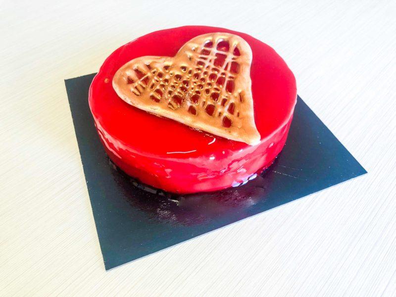 Tarta de corazón San Valentin